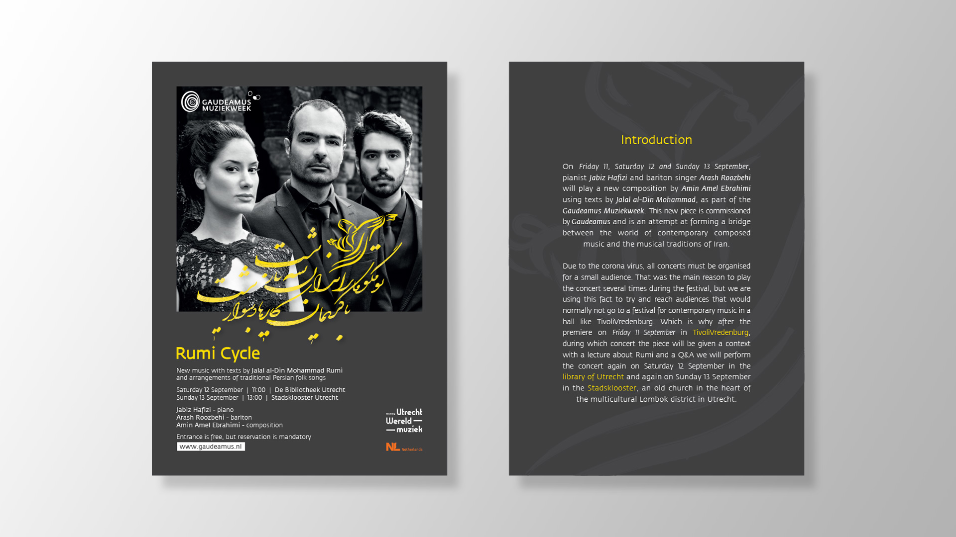 Rumi-flyer-design